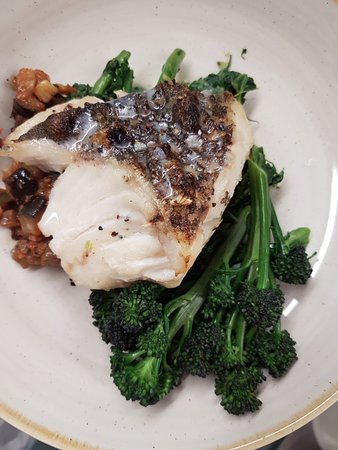 Ilfracombe Carlton Hotel: Local fish features on the menu