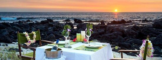 "Honu Kai B&B: ""Sunset & Stars"" private dinner on the beach."