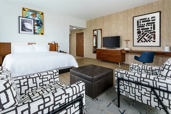 Spread Out In Your King Studio Suite At The Hampton Inn Suites