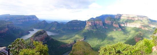 Graskop, Sydafrika: panoramique