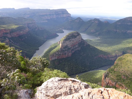 Graskop, Sydafrika: canyon