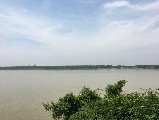 Chibi, China: 曹操が陣を張ったとされる場所