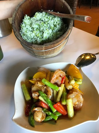 This rice is delicious + stir fry