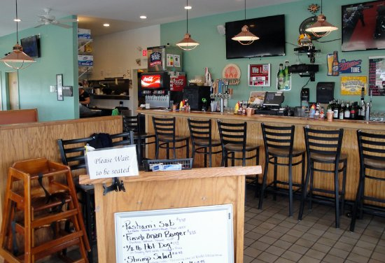 Milton, VT: Clean, open and unpretentious is what you'll find at Rick's Grill.