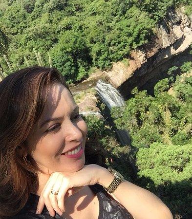 Salto Veloso: Cachoeira linda em todos os âmgulos