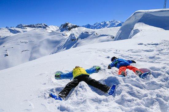 Les Carroz, Station de Ski