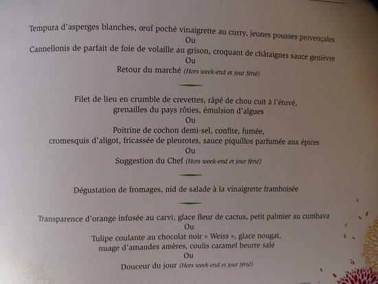 Tempura d 39 asperges blanches oeuf poch vinaigrette au for Restaurant issoire le jardin