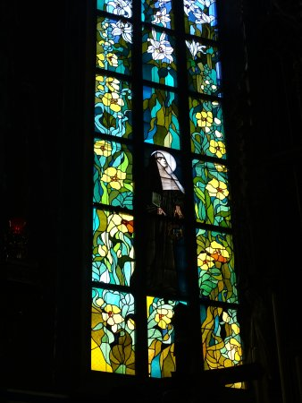 Franciscan Church (Kosciol Franciszkanow): Apse stained glass