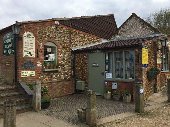 Le Strange Old Barns Antiques & Craft Centre