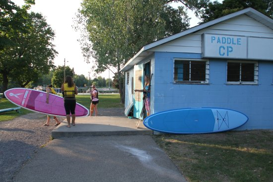 Carleton Place, Canada: The SUP Hut!