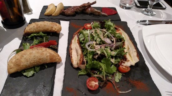 Tenafly, NJ: Lamb Lolly Chops, Beef Empanadas & Grilled Octopus Salad