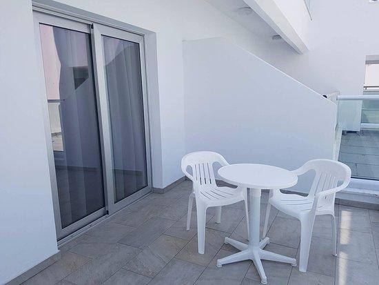 إفابيل نابا هوتل آبارتمينتس: Balcony