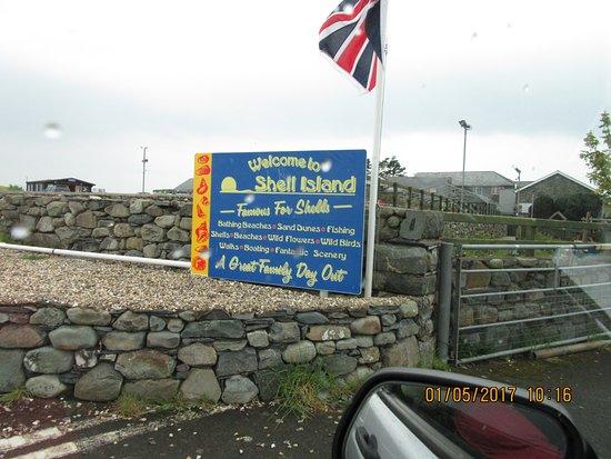 Llanbedr, UK: Welcome sign