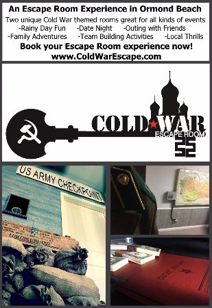 ‪Cold War Escape Room‬