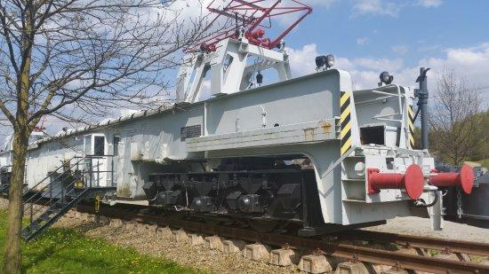 Neuendorf, Alemania: Zug am Eingang von ErlebnisPark Teichland