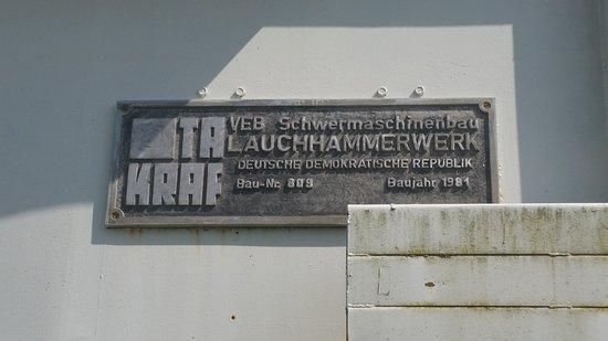 Neuendorf, Niemcy: Zug am Eingang von ErlebnisPark Teichland