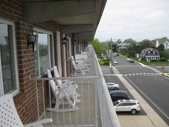 The Grand Hotel: Balconies