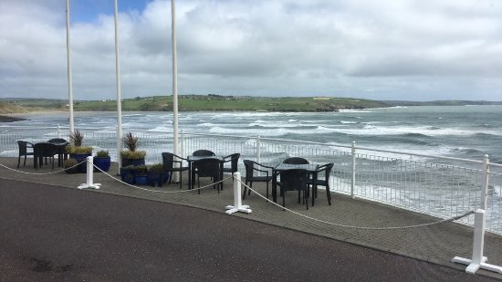 Dunmore House Hotel: View form room & restaurant, general bar, relaxing area
