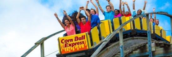 Monticello, IN: Corn Ball Express!