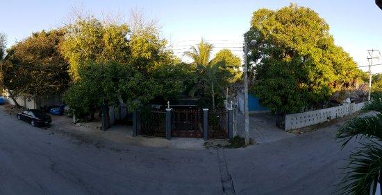 Posada Luna del Sur: room 11 view from balcony
