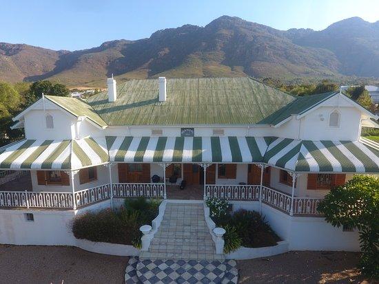 Riebeek-West, Afrika Selatan: vue de la façade avant