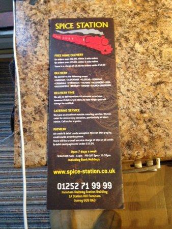 Farnham, UK: Contact etc information