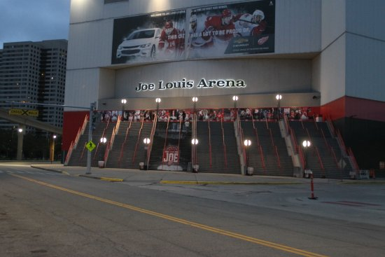 Joe Louis Arena: The Joe Louis Area
