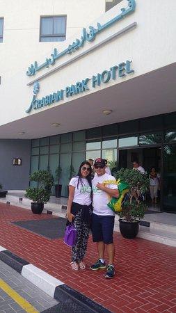 Arabian Park Hotel: O acesso é ótimo! alguns transfer gratuito e táxi sempre que você precisa.