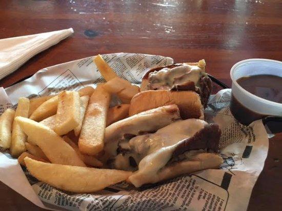 Garner, NC: French dip with steak fries
