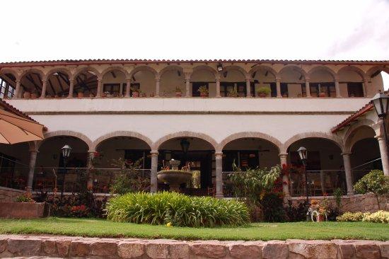 Tunupa Valle Sagrado: Jardim do restaurante