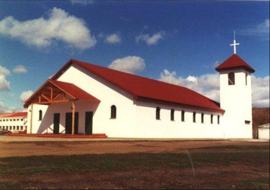 Río Grande: Santuario dedicado a María Auxiliadora en la Ex Misión Salesiana.