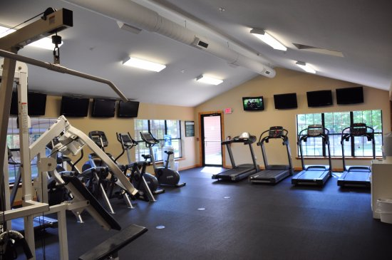 Great Branson Cabins : Exercise facility at our Westgate properties' resort