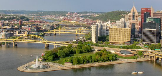 Duquesne Incline: View from the top of the incline