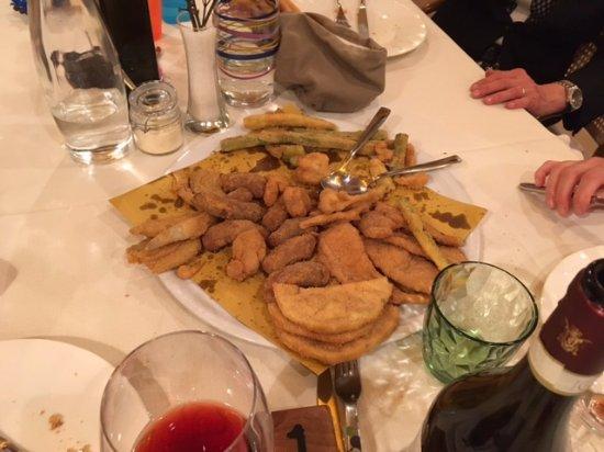 Trattoria San Martin: fritto misto alla piemontese