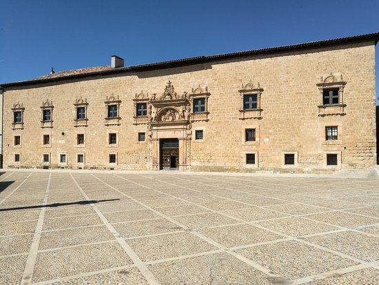 Penaranda de Duero, Spanyol: Vista del palacio.