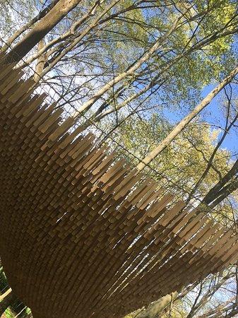 The Inn at Honey Run: Artist exhibit on the art hiking trail