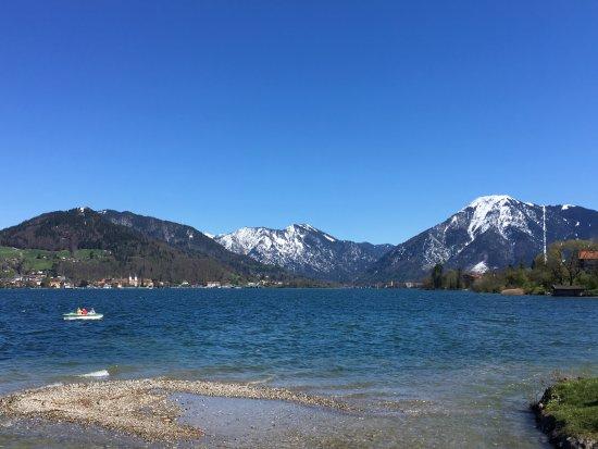 Bellevue: Prachtige omgeving van de Tegernsee