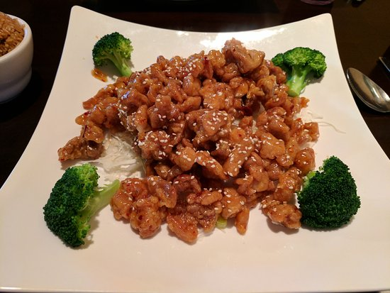 Asian Wind: Kung Pao Chicken. Could have used some more vegetables, but the sauce and chicken were very good