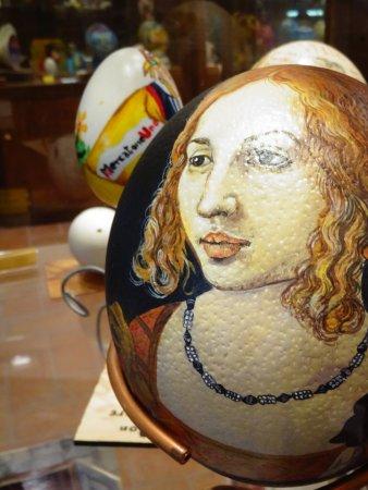 Civitella del Lago, Italia: esempio opera d'arte con uovo