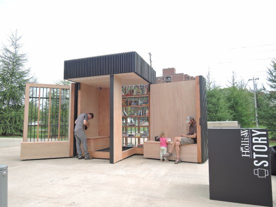 Newmarket, UK: STORY POD DESIGNED BY AKB