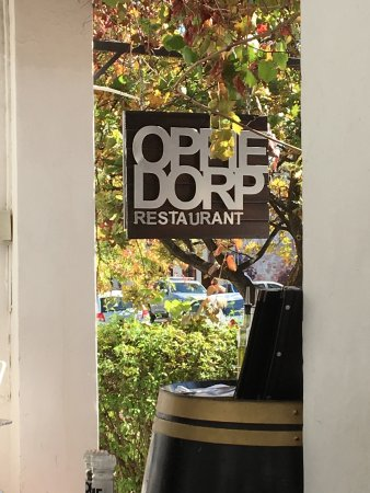 Oppie Dorp Restaurant: Diners view