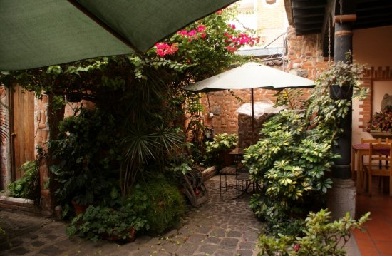 Fernando's Kaffee : The open patio area.