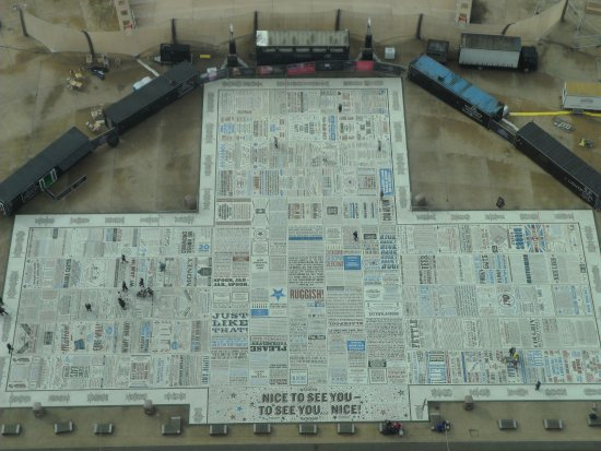 Comedy Carpet : View from Tower