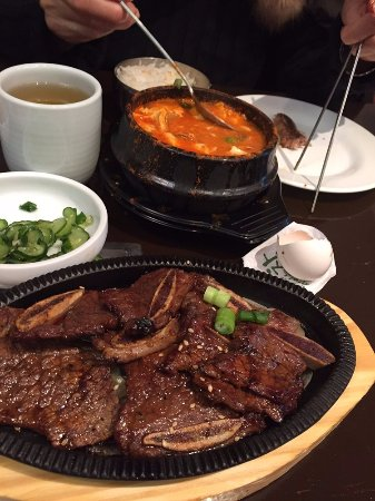 East Brunswick, NJ: Ribs and Tofu Soup