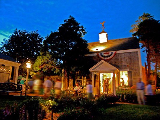 Chatham, MA: A night shot of the beautiful and historic, Monomoy Theatre