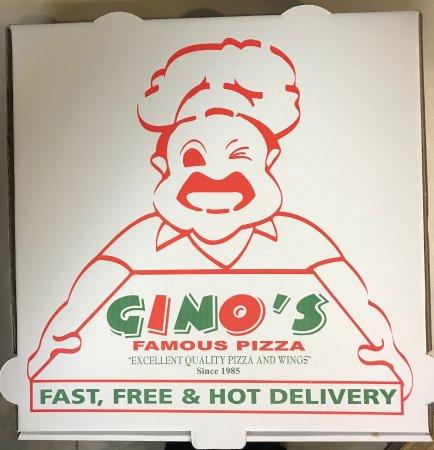 Pickering, Kanada: Gino's Pizza Box