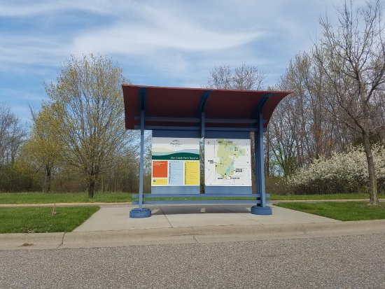 Elm Creek Park Reserve: map