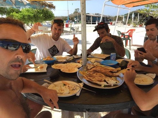 Augustin: Almuerzo de lujo en Agustín