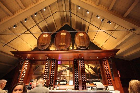 Geyserville, Califórnia: Reserve bar