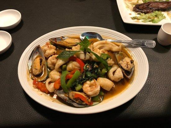 Sake Thai and Sushi: Puket Spicy Seafood